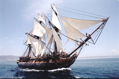 HMS Surprise in Master and Commander