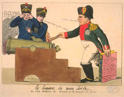 Napoleonic political cartoons