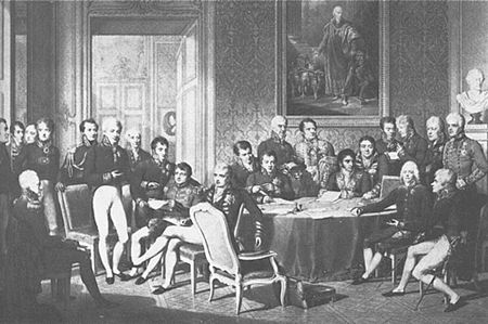 Congress of Vienna : 1814 : Great Powers of Europe : Napoleon ...