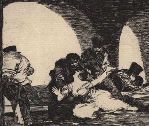 Goya's Disasters Of War : Art : Drawings : Peninsular War