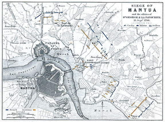 Map of Battle of Mantua : Alison's History of Europe : Map ... Map With Battles Of Napoleon S All on timeline of napoleon's battles, map of grant's battles, map of world war 1 battles, map of civil war battles, map of alexander's battles, map of napoleon bonaparte battles, map of george washington's battles, map of mexican war battles, map of texas battles,
