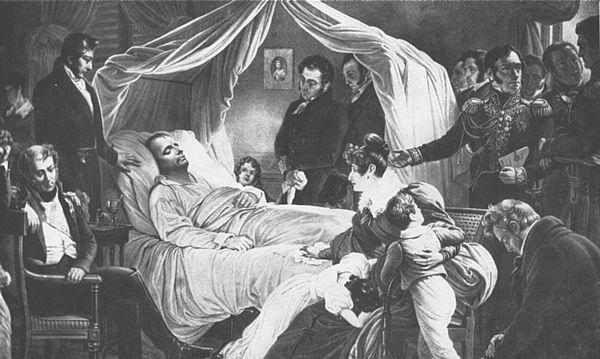 Napoleon Bonaparte a Dying Emperor