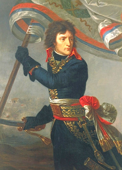 Napoleon Bonaparte leads his men on Napoleon Bonaparte In French Revolution