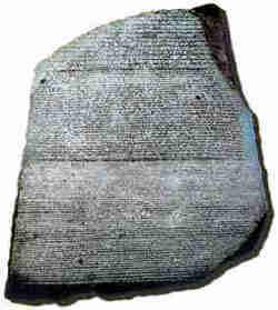 The Rosetta Stone : Napoleon Bonaparte : Napoleonic era :